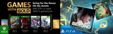 PlayStation Plus Games with Gold