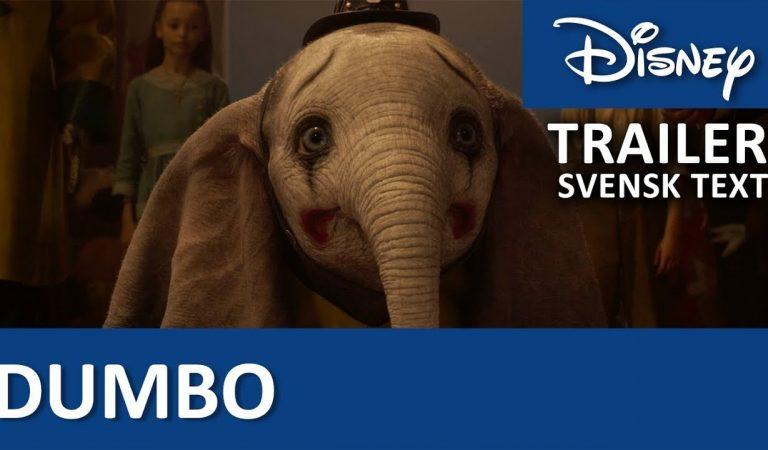 Ny trailer för Dumbo