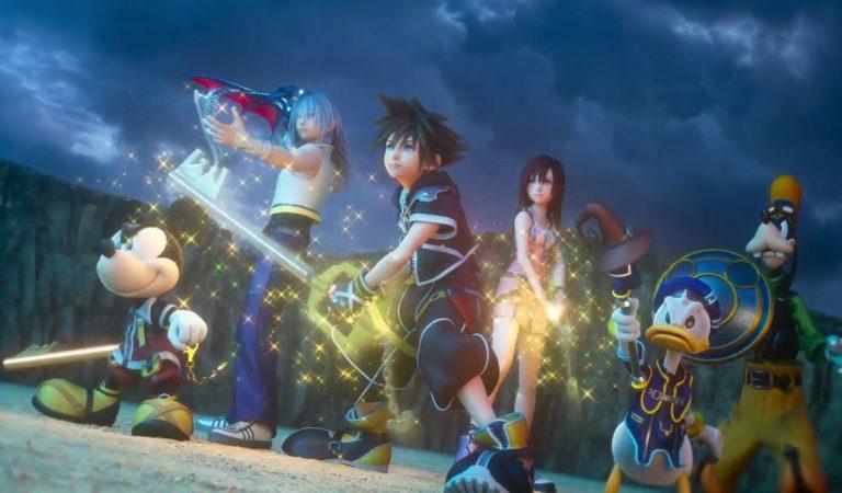 Kolla in öppningsfilmen för Kingdom Hearts III