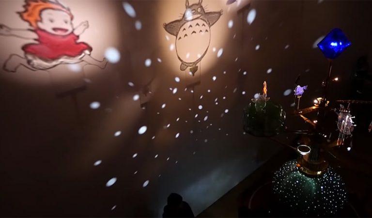 En riktigt fin Ghibli-nattlampa