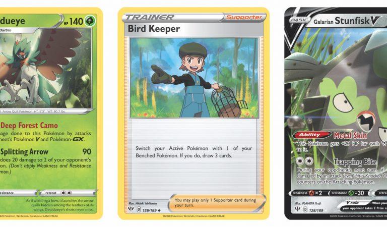 Här är tre nya Pokémon-kort från Darkness Ablaze