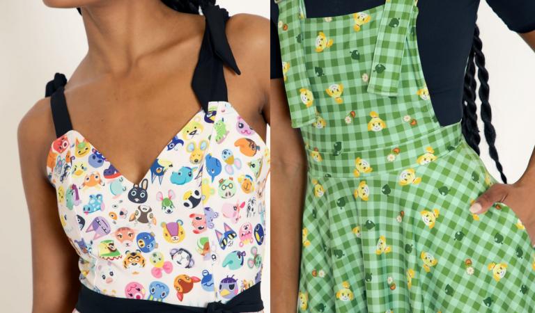 Nu har BlackMilk släppt sina Animal Crossing-kläder